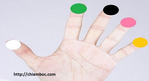 Xem vận trình con người qua 5 loại màu sắc trên lòng bàn tay