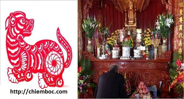 Xem hướng bàn thờ cho người tuổi Tuất phúc lộc bình an