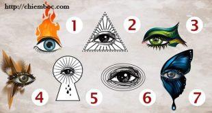 Chọn một con mắt sẽ nói lên chính xác tính cách và con người của bạn