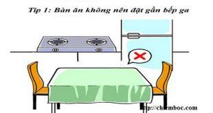 6 lỗi dễ mang hoạ khi đặt bàn ăn không đúng phong thuỷ
