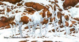 Số con ngựa nhìn thấy trong bức tranh tiết lộ bạn nhìn nhận sự việc tổng quan hay chi tiết