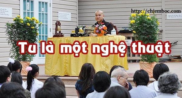 Nếu chỉ đơn thuần là ăn chay, đi chùa, lễ Phật mà nói Tu thì chưa đúng nghĩa. TU đơn giản là như thế này!