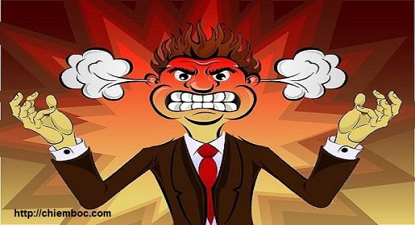 Tức giận là cuộc kinh doanh lỗ nhất trên đời