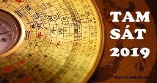 Xác định phương vị TAM SÁT 2019 và cách hóa giải hiệu quả nhất