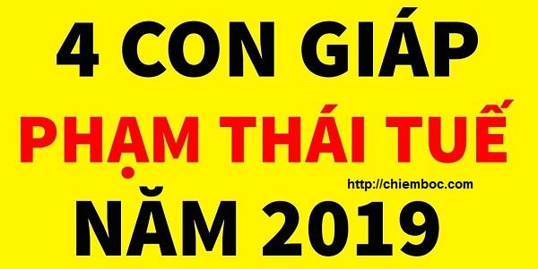 4 điều ĐẠI KỊ cho con giáp phạm Thái Tuế 2019, thận trọng để tránh vận xui