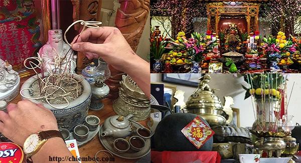 Cách Lau dọn bàn thờ cuối năm đúng cách để gia tiên phù hộ năm mới tấn tài tấn lộc