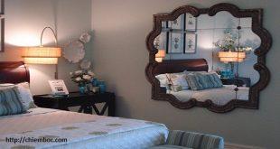 Hướng dẫn hóa giải lỗi phong thủy gương đối giường