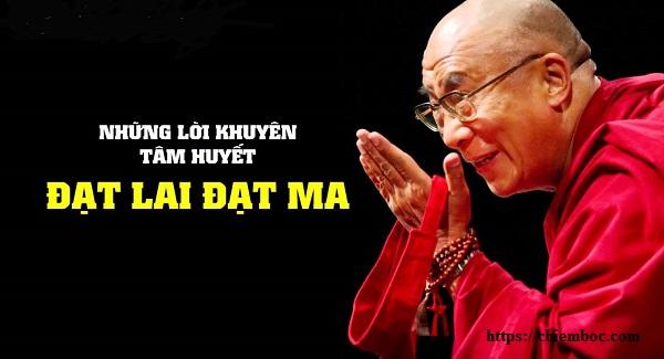 Đức Đạt Lai Lạt Ma nói về cách đối mặt với khó khăn trong cuộc sống