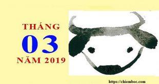 Tử vi tháng 3/2019 âm lịch của tuổi Sửu phải tự lực nhưng cái khó ló cái khôn