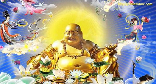 Tại sao Phật Di Lặc lại có tạo hình bụng bự, miệng cười tươi?