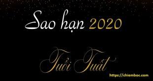 Xem SAO HẠN 2020 tuổi Tuất: Đầy đủ các tuổi Mậu Tuất, Nhâm Tuất, Canh Tuất, Bính Tuất, Giáp Tuất