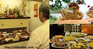 Bài cúng Rằm tháng Chạp chuẩn văn khấn cổ truyền Việt Nam
