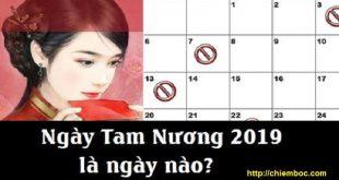 Ngày Tam Nương 2019 là ngày nào? Có thật là không được cưới hỏi vào ngày Tam Nương?