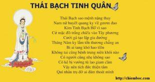 Văn khấn giải hạn sao Thái Bạch
