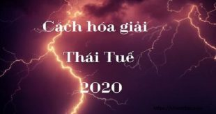 Cách hóa giải Thái Tuế 2020: Vận xui tiêu tán nếu biết thay đổi từ chính bản thân mình