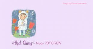 Tử vi Chủ nhật ngày 20/10/2019 của 12 Cung hoàng đạo